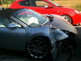 Deux Bugatti Veyron Grand Sport accidentées