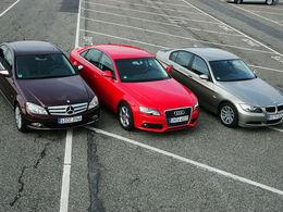 Audi, leader du segment Premium en avril devant BMW et Mercedes