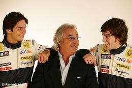 Renault F1 2009 : la paire Alonso - Piquet renouvelée ?