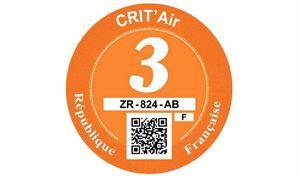 Crit'Air et ZFE: les PV par vidéo-verbalisation dès fin 2021