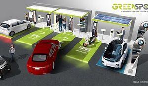 Bordeaux: la station-service électrique est née