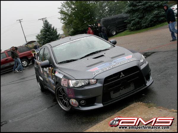 Mitsubishi Lancer Evolution AMS : La X pour continuer