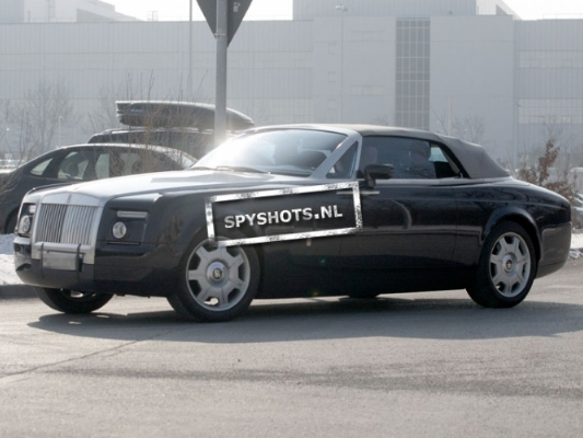 Spyshot : lifting à venir pour la Rolls-Royce Drophead