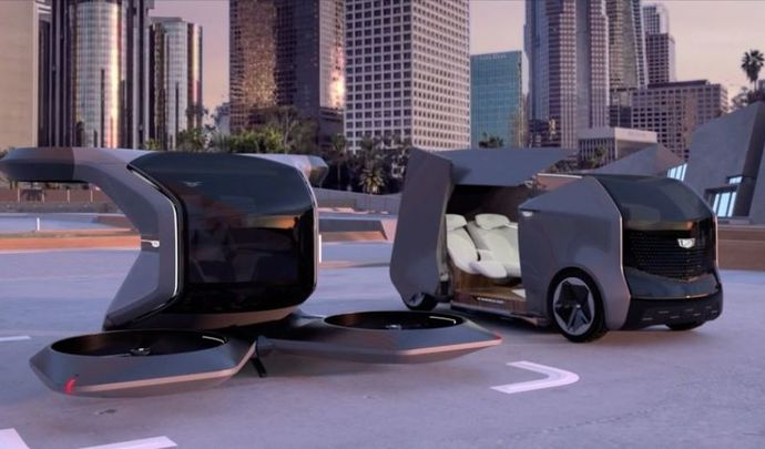 """CES 2021 : General Motors et sa """"voiture"""" volante"""