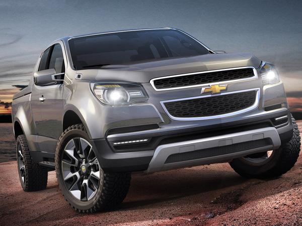 Salon de Bangkok : nouveau Chevrolet Colorado