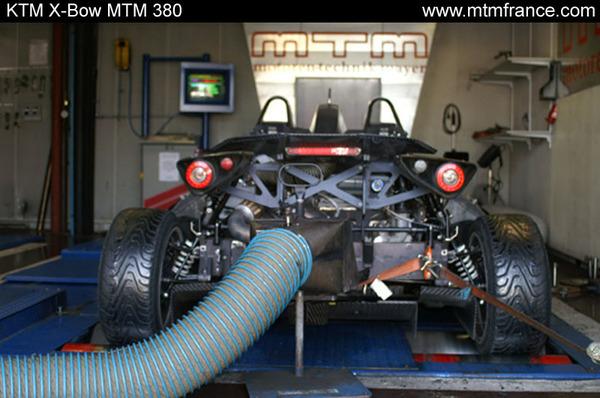 KTM X-bow : MTM en sort déjà 380 chevaux !