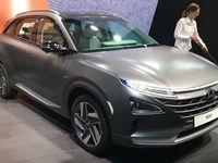 Hyundai Nexo : l'avenir en pointillé - Vidéo en direct du salon de Genève 2018