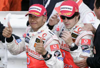 F1: McLaren blanchi