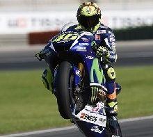 MotoGP - Valence : Rossi compétitif avec les pneus usés