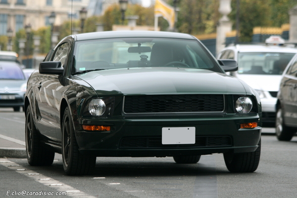 "Photos du jour : Ford Mustang ""Bullitt"""