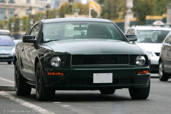 """Photos du jour : Ford Mustang """"Bullitt"""""""