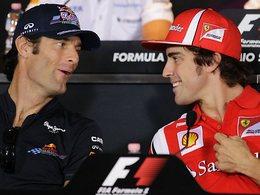 F1 - GP de Singapour : Alonso et Webber réprimandés !