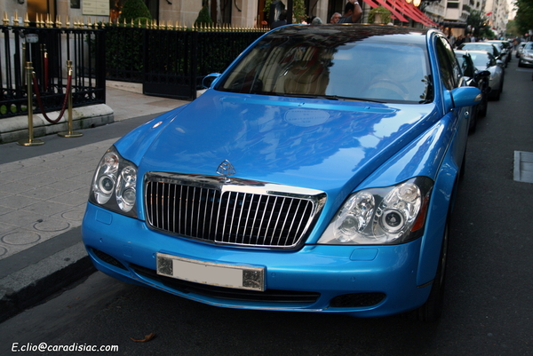 Photos du jour : Maybach 62