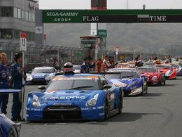 Le début de la saison de Super GT reporté...