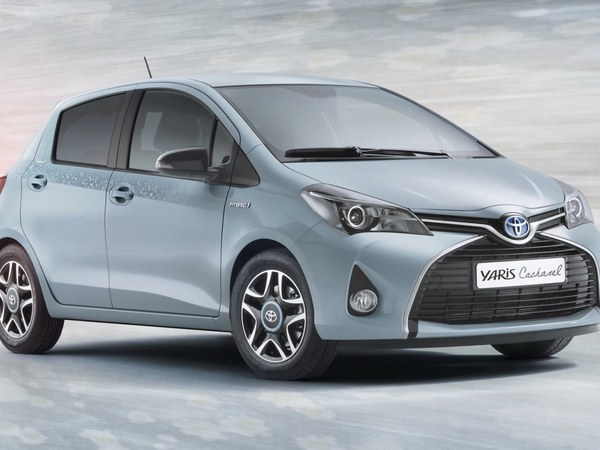 Toyota: une Yaris Cacharel très mode