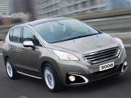 La Peugeot 3008 bientôt produite en Chine