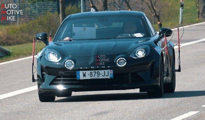 L'Alpine A110 de 300 chevaux affronte le Nürburgring