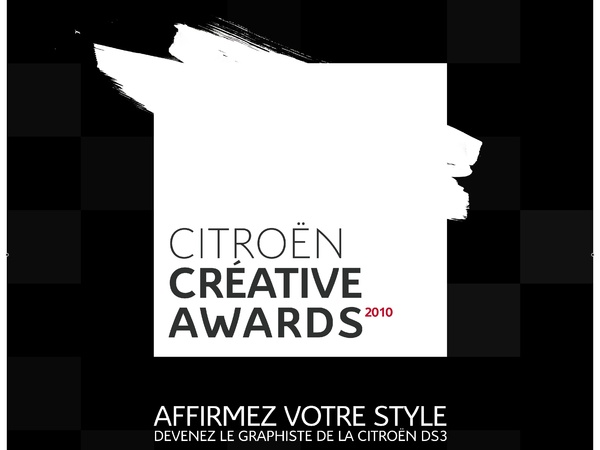 Citroën Creative Awards : dessine-toi un toit (de DS3)