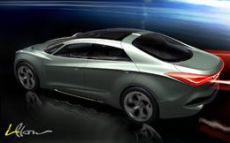 Genève 2010 : Hyundai iFlow concept, future i40 ?