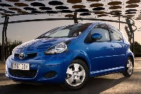 Léger restylage pour la Toyota Aygo