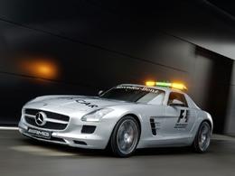F1 - Mercedes SLS AMG et C63 AMG, toujours au poste