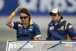 Renault F1 Team : Piquet et Alonso bel et bien confirmés