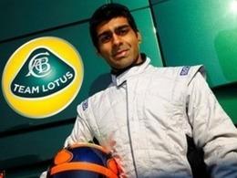 Karun Chandhok, réserviste du Team Lotus