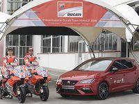 Seat: la Leon Cupra reste la voiture Ducati en MotoGP