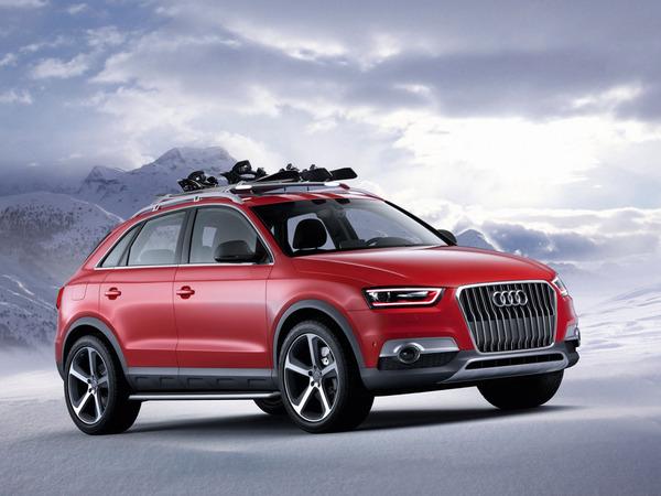 Audi Q3 Red Track: et un concept Audi, un!
