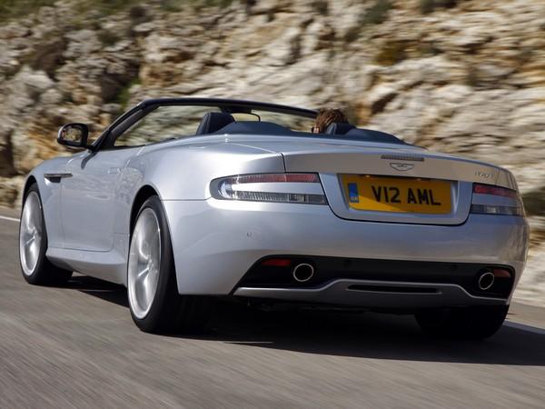 [Vidéo] L'Aston Martin Virage Volante se découvre dans le sud de l'Espagne