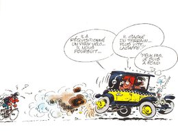 Question du jour n°172 : quelle était la voiture de Gaston Lagaffe ?