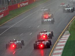 F1 - De la pluie à Melbourne pour les essais