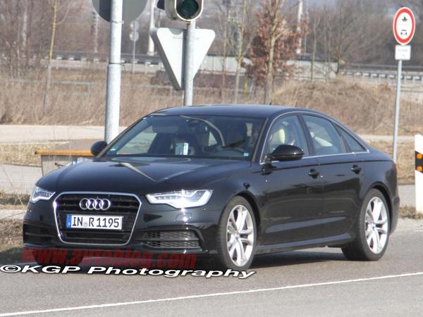 Spyshot : prochaine Audi S6, première sortie