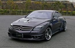 Mercedes CL60 SuperWide Edition par VITT : burp !