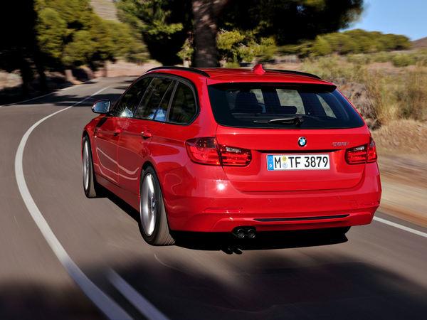Nouvelle BMW Série 3 Touring: belle et pratique