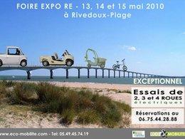 FOIRE EXPO RÉ 2010 : les véhicules électriques à l'honneur