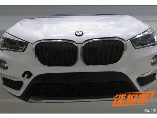 Surprise : le futur BMW X1 sort sans camouflage