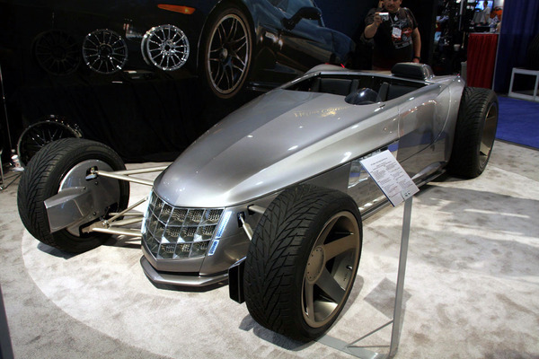 SEMA 2008 : Cadillac-Powered VRS, cigare atomique coupe-frites