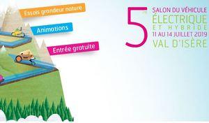 Salon :de l'électrique à Val d'Isère du 11 au 14 juillet