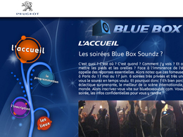 (Minuit chicanes) Blue Box Soundz: Quand Peugeot ne sait plus quoi inventer