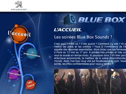 (Minuit chicanes) Blue Box Soundz: Quand Peugeot ne sait plus quoi inventer
