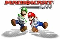 Mario se prend pour un motard sur Mario Kart Wii