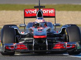 Jenson Button sur le circuit de Bathurst avec sa F1 McLaren, c'est du sport