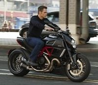 """The Ryan Initiative"": le Ducati Diavel s'invite au casting (vidéo)"