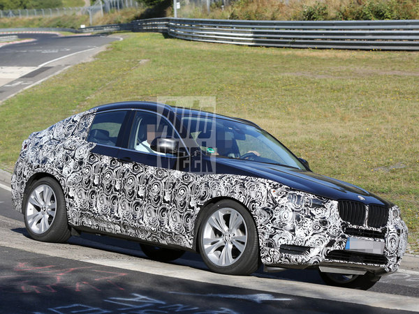 Surprise : le futur BMW X4 sur le Ring