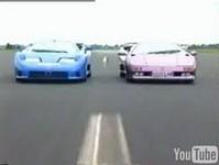 Vidéo : Bugatti EB110 vs Lamborghini Diablo