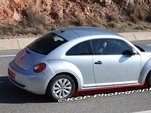 Une Volkswagen New Beetle dévergondée en préparation?