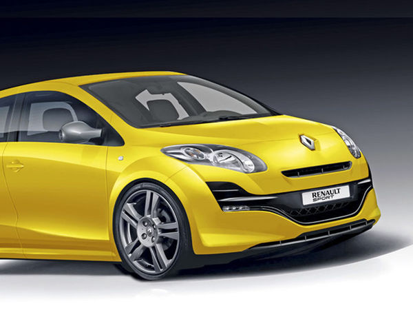 future renault clio r s exclusivement en bo te double embrayage. Black Bedroom Furniture Sets. Home Design Ideas
