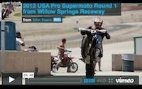 Supermotard, USA 2012: Willows Springs, la vidéo