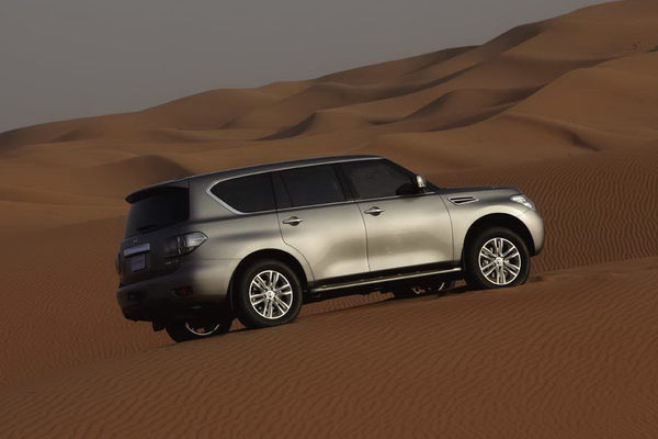 Officiel - le Nissan Patrol de retour : beaucoup moins rustique